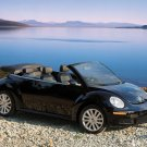 """Volkswagen New Beetle Convertible Car Poster Print on 10 mil Archival Satin Paper 20"""" x 15"""""""