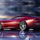 "Zagato Perana Z-One Car Poster Print on 10 mil Archival Satin Paper 16"" x 12"""