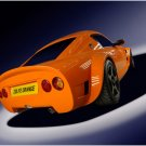 "Zolfe Classic GTC4 Sports Car Poster Print on 10 mil Archival Satin Paper 16"" x 12"""