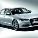 "Audi A6 Hybrid (2012) Car Poster Print on 10 mil Archival Satin Paper 16"" x 12"""