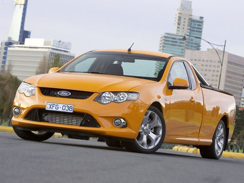"""Ford FG Falcon Ute XR6 Turbo Concept Car Poster Print on 10 mil Archival Satin Paper 16"""" x 12"""""""""""