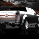 "Ford F-250 Super Chief Concept Truck Poster Print on 10 mil Archival Satin Paper 16"" x 12"""""