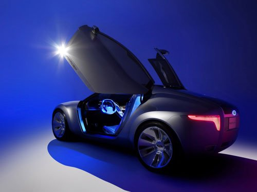"""Ford Reflex Concept Car Poster Print on 10 mil Archival Satin Paper 16"""" x 12"""""""""""
