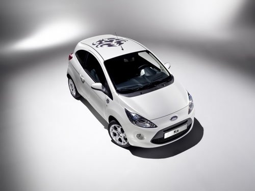 """Ford Ka Tattoo Concept Car Poster Print on 10 mil Archival Satin Paper 16"""" x 12"""""""""""
