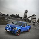 "Ford F-150 H and R Springs Hot Rod Truck Poster Print on 10 mil Archival Satin Paper 16"" x 12"""""