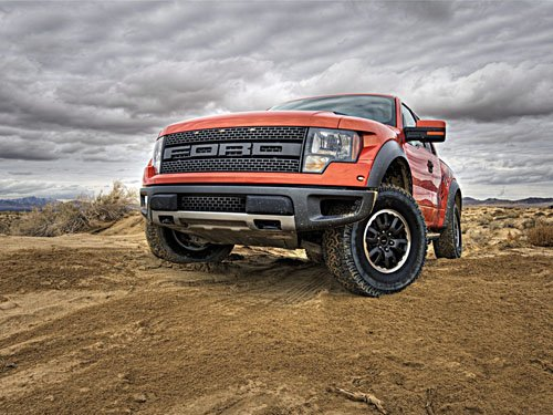 "Ford F150 SVT Raptor Price Truck Poster Print on 10 mil Archival Satin Paper 16"" x 12"""""