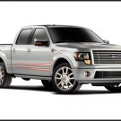 "Ford Harley Davidson F-150 (2011) Truck Poster Print on 10 mil Archival Satin Paper 16"" x 12"""""