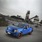 "Ford F-150 H and R Springs Hot Rod Truck Poster Print on 10 mil Archival Satin Paper 20"" x 15"""
