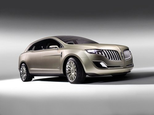 """Lincoln MKT 2008 Concept Car Poster Print on 10 mil Archival Satin Paper 16"""" x 12"""""""""""
