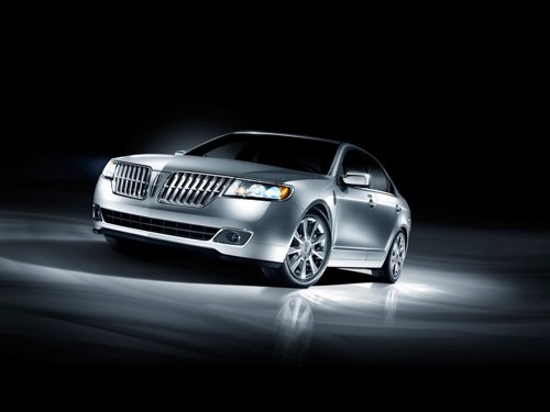 """Lincoln MKZ Concept Car Poster Print on 10 mil Archival Satin Paper 16"""" x 12"""""""""""