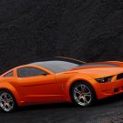 """Ford Mustang Giugiaro Concept Car Poster Print on 10 mil Archival Satin Paper 16"""" x 12"""""""""""