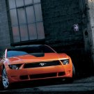 "Ford Mustang Giugiaro Concept Car Poster Print on 10 mil Archival Satin Paper 16"" x 12"""""
