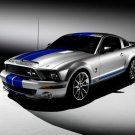 "Ford Mustang GT 500KR Car Poster Print on 10 mil Archival Satin Paper 16"" x 12"""""