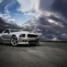 """Ford Mustang SMS Limited 25th Anniversary Car Poster Print on 10 mil Archival Satin Paper 16"""" x 12"""""""""""