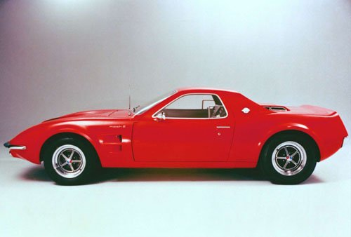 """Ford Mustang Mach 2 Concept Car Poster Print on 10 mil Archival Satin Paper 16"""" x 12"""""""""""