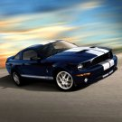 """Ford Mustang GT 500KR Car Poster Print on 10 mil Archival Satin Paper 20"""" x 15"""""""