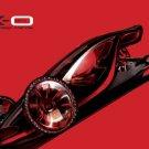 """Mazda MX-0 Concept Design Car Poster Print on 10 mil Archival Satin Paper 26"""" x 16"""""""