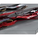 "Nissan iV Concept Design Car Archival Canvas Print (Mounted) 16"" x 12"""