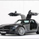 "Brabus Mercedes-Benz SLS Car Poster Print on 10 mil Archival Satin Paper 16"" x 12"""