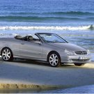 "Mercedes-Benz CLK Class Cabriolet Car Poster Print on 10 mil Archival Satin Paper 16"" x 12"""