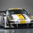 "Porsche 911 GT3 RSR Race Car Poster Print on 10 mil Archival Satin Paper 16"" x 12"""