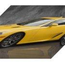 "Lexus LFA (2012) Car Archival Canvas Print (Mounted) 16"" x 12"""