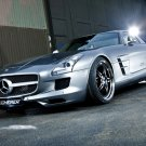 "Mercedes-Benz Kicherer SLS 63 Supersport Car Poster Print on 10 mil Archival Satin Paper 16"" x 12"""