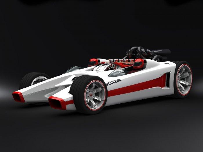 "Honda Hot Wheels Racer Car Poster Print on 10 mil Archival Satin Paper 16"" x 12"""