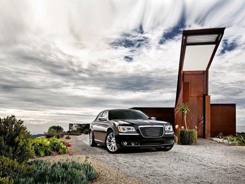 "Chrysler 300 Car Poster Print on 10 mil Archival Satin Paper 20"" x 15"""