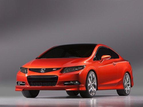 "Honda Civic SI Concept Car Poster Print on 10 mil Archival Satin Paper 16"" x 12"""