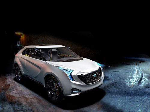 "Hyundai Curb Crossover Concept Car Poster Print on 10 mil Archival Satin Paper 16"" x 12"""