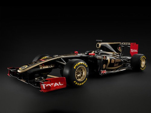 "Lotus Renault GP Race Car Poster Print on 10 mil Archival Satin Paper 20"" x 15"""