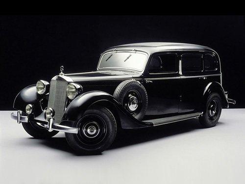 "Mercedes-Benz 260 D 1936-1940 Car Poster Print on 10 mil Archival Satin Paper 20"" x 15"""