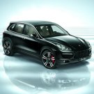 "Porsche Cayenne Turbo Car Poster Print on 10 mil Archival Satin Paper 16"" x 12"""