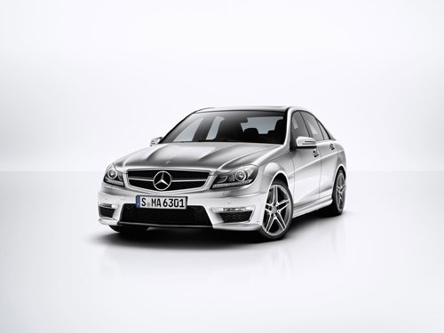"Mercedes-Benz C63 AMG Car Poster Print on 10 mil Archival Satin Paper 26"" x 16"""