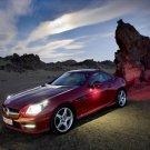"Mercedes-Benz SLK 350 Roadster Car Poster Print on 10 mil Archival Satin Paper 26"" x 16"""