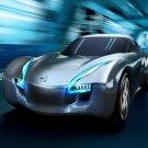 "Nissan ESFLOW Concept Car Poster Print on 10 mil Archival Satin Paper 16"" x 12"""