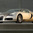 "Bugatti Veyron Gold Edition Car Poster Print on 10 mil Archival Satin Paper 16"" x 12"""