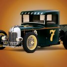"Ford (1932) Street Rod Custom Truck Poster Print on 10 mil Archival Satin Paper 16"" x 12"""