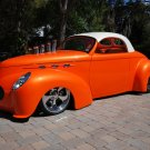 "Willys (1941) Custom Car Poster Print on 10 mil Archival Satin Paper 16"" x 12"""