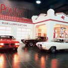 "Pontiac Firebird, GTO and the Judge Car Poster Print on 10 mil Archival Satin Paper 16"" x 12"""