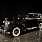 "Packard (1938) 1608 Convertible Sedan Car Poster Print on 10 mil Archival Satin Paper 16"" x 12"""