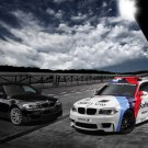 "BMW M Coupe MotoGP Safety Car Poster Print on 10 mil Archival Satin Paper 20"" x 15"""
