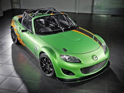 """Mazda MX-5 GT Race Car Poster Print on 10 mil Archival Satin Paper 16"""" x 12"""""""
