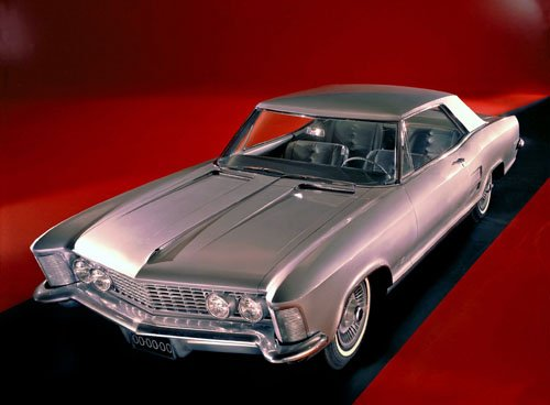 "Buick Riviera 1963-65 Car Poster Print on 10 mil Archival Satin Paper 16"" x 12"""