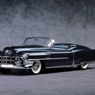 "Cadillac Eldorado (1953) Convertible Car Poster Print on 10 mil Archival Satin Paper 16"" x 12"""