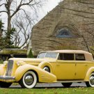 """Cadillac V16 452 D Imperial (1935) Convert. Car Poster Print on 10 mil Archival Satin Paper 16""""x12"""""""