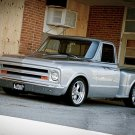 "Chevy 1/2 T Stepside (1967) Custom Truck Poster Print on 10 mil Archival Satin Paper 16"" x 12"""