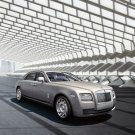 "Rolls Royce Ghost Extended Wheelbase Car Poster Print on 10 mil Archival Satin Paper 26"" X 16"""