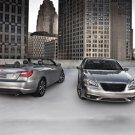 "Chrysler 200 S Convertible Car Poster Print on 10 mil Archival Satin Paper 20"" x 15"""